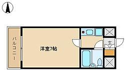 メインステージ武庫川[4階]の間取り