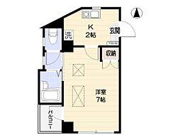 稲城蔵ビル[3階]の間取り