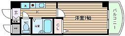 ノルデンハイムリバーサイド天神橋[4階]の間取り
