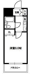 エスリード新大阪第6[4階]の間取り