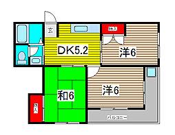 メゾン吉田[3階]の間取り