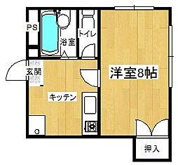 メゾン槙島[3階]の間取り