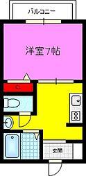 シャーメゾン灰塚[1階]の間取り