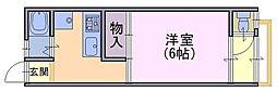 ピソ・シエテ1[2階]の間取り