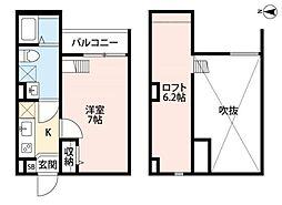 Soleil中川 ソレイユナカガワ[1階]の間取り
