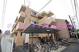 岡山県岡山市北区北方1丁目の賃貸マンションの外観