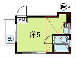 高円寺パレス パートII[105号室]の間取り