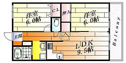 ツインゲート[2階]の間取り