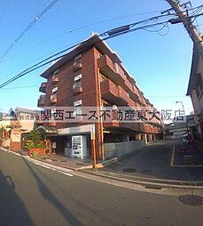 大阪府東大阪市立花町の賃貸マンションの外観