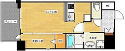 ルブラン箱崎 5階1LDKの間取り