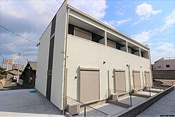 福岡県北九州市小倉北区日明2丁目の賃貸アパートの外観