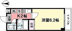 パルクベール上井草[306号室]の間取り