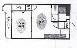 兵庫県神戸市垂水区宮本町の賃貸マンションの間取り