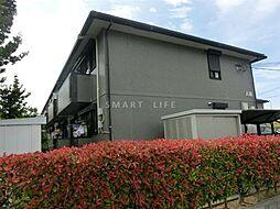 滋賀県大津市今堅田2丁目の賃貸アパートの外観