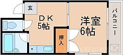 広島県広島市東区中山東2丁目の賃貸マンションの間取り