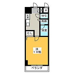 アーバンシティ幸田[3階]の間取り