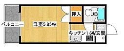 フェニックスセイコウ[2階]の間取り