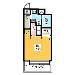 エステート・モア・赤坂[13階]の間取り