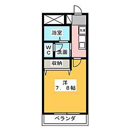 ピュアコート[2階]の間取り