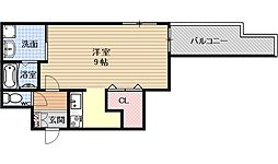 Casa de issa[403号室号室]の間取り