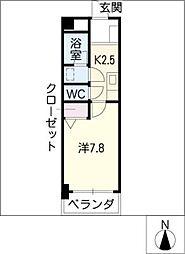 プレミールKATSURA[3階]の間取り
