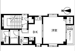 グランドキャニオン元町[201号室]の間取り