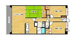 リファレンス寺塚[5階]の間取り