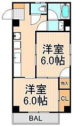 ジョイスマンション[105号室]の間取り