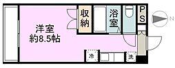 WINDOM新栄[2階]の間取り