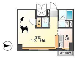 KDXレジデンス東桜I[15階]の間取り