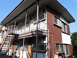 神奈川県横浜市港北区高田町の賃貸アパートの外観