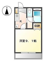 クオーレメイトウ[2階]の間取り