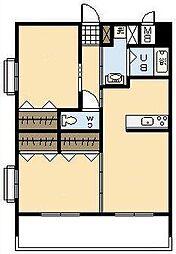 (新築)下北方町常盤元マンション[705号室]の間取り