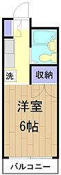メゾンSEIWA[301号室]の間取り