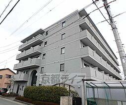 京都府京田辺市田辺鳥本の賃貸マンションの外観