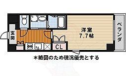 名古屋市営桜通線 瑞穂区役所駅 徒歩2分の賃貸マンション 3階1Kの間取り