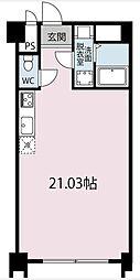 東京都板橋区赤塚新町1丁目の賃貸マンションの間取り
