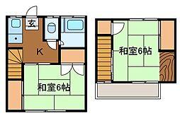 清水荘[1階]の間取り