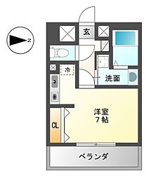 G・EXCEED[4階]の間取り