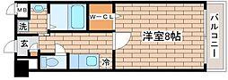 兵庫県神戸市須磨区車字潰ノ下の賃貸マンションの間取り