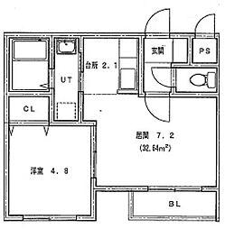 仮)北14条東1丁目MS[303号室]の間取り
