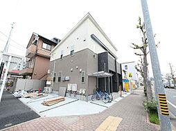 愛知県名古屋市東区筒井町4丁目の賃貸アパートの外観