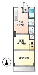 第一不二ビル[2階]の間取り