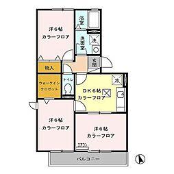 コラージュみなみ(稲里町中央)[103号室号室]の間取り
