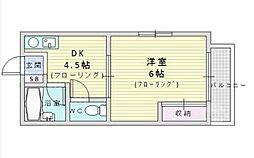 EST-1小野原[1階]の間取り