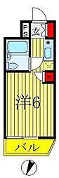 ウィンベルソロ八柱第5[405号室]の間取り