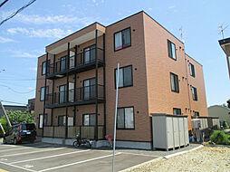 北海道札幌市東区東苗穂十三条3丁目の賃貸アパートの外観