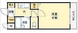 マンションタカトミ[305号室]の間取り