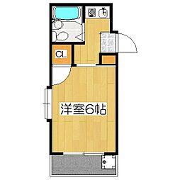 パサージュ1[3階]の間取り