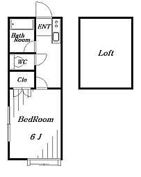 イトウハイツ[2階]の間取り